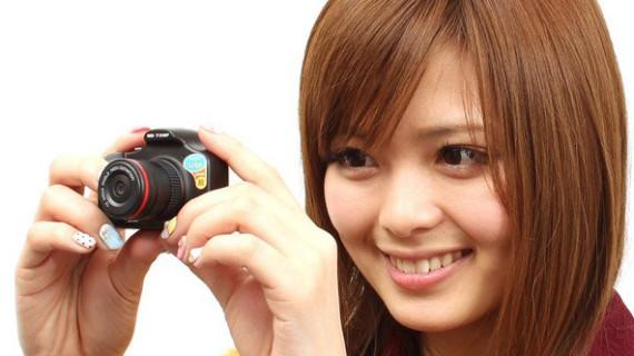 Фотоаппарат Kun One Eye – удивительно маленькая «зеркалка»