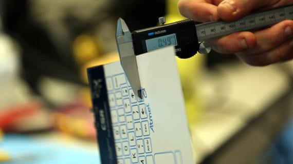 Была создана самая тонкая клавиатура в мире