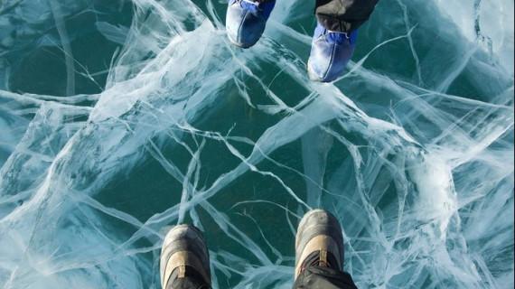 В Антарктиде текут реки